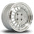 Rota Speciale, 15 x 7 inch, 4108 PCD, ET20 in Satin Silver with Polished Lip Single Rim