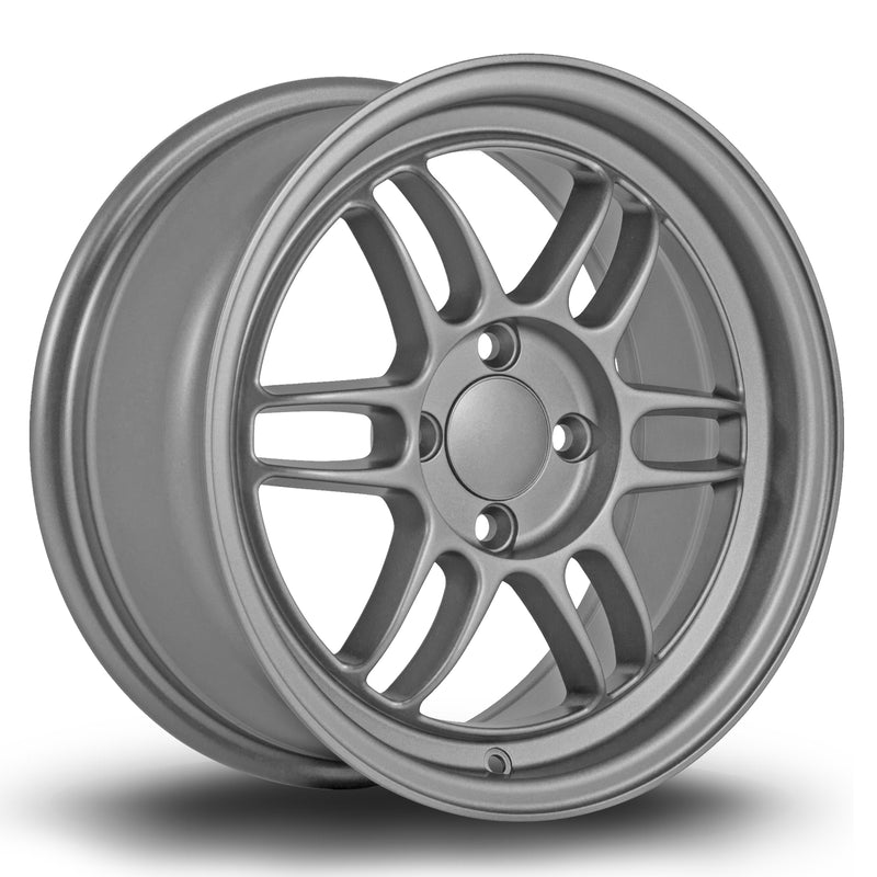 356 Wheels TFS3, 15 x 7 inch, 4100 PCD, ET38 Matt Grey - Rotashop