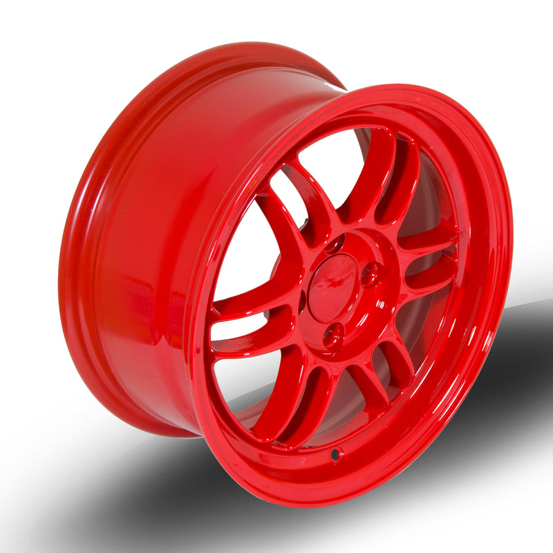 356 Wheels TFS3, 15 x 7 inch, 4100 PCD, ET38 Red - Rotashop
