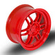 356 Wheels TFS3, 15 x 7 inch, 4100 PCD, ET38 Red