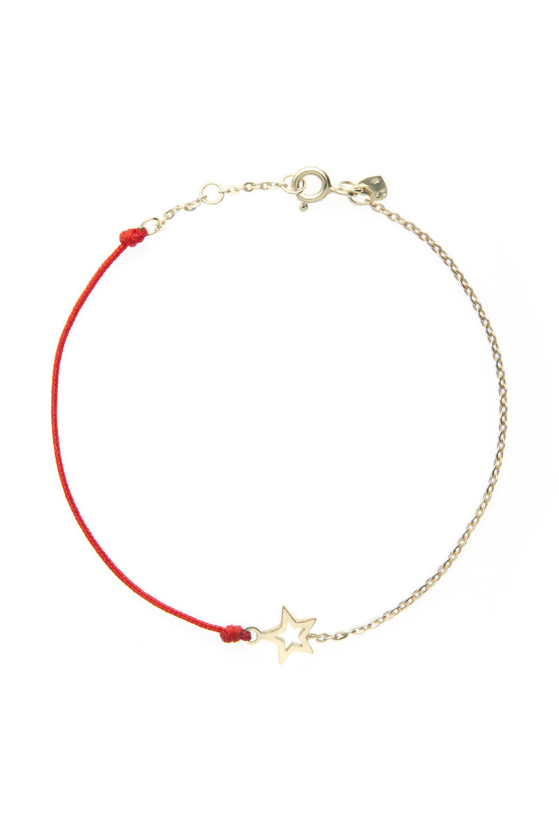 HalfHalf yellow star bracelet