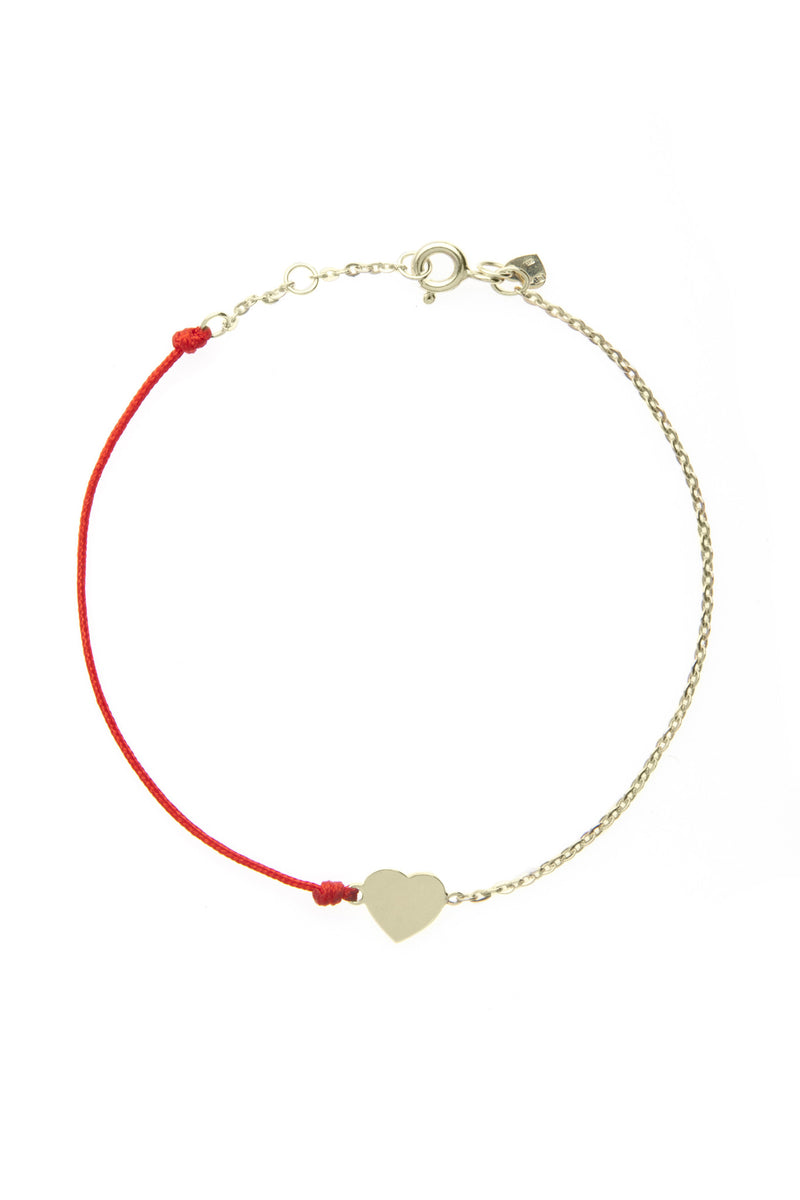 HalfHalf yellow heart bracelet