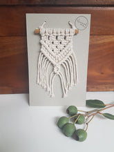 Load image into Gallery viewer, Macrame Car Mirror Decorations