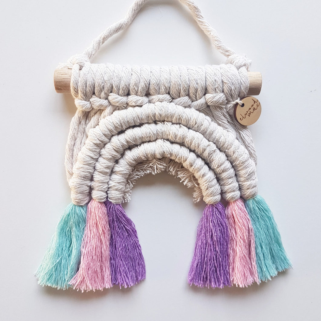 Tutu Rainbow Wall Hanging