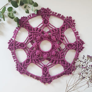 Summer Fruits Mandala Wall Hanging