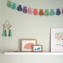 Load image into Gallery viewer, Mini Rainbow Bunting