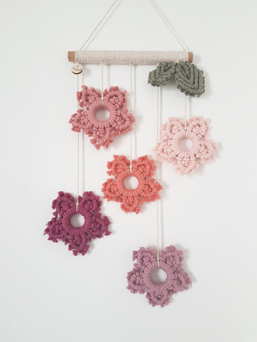 Flower Drop Wall Hanging