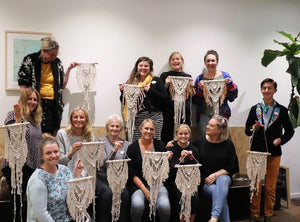 Beginners Macrame Wall Hanging Workshop