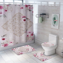 Load image into Gallery viewer, 4 piece Floral bath set