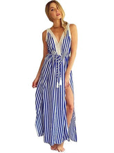 Load image into Gallery viewer, Striped Party Dress. Very Pretty!