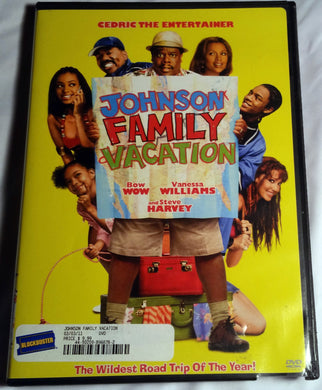 Johnson Family Vacation DVD