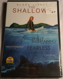 The Shallows DVD(Factory Sealed) - Blake Lively Drama