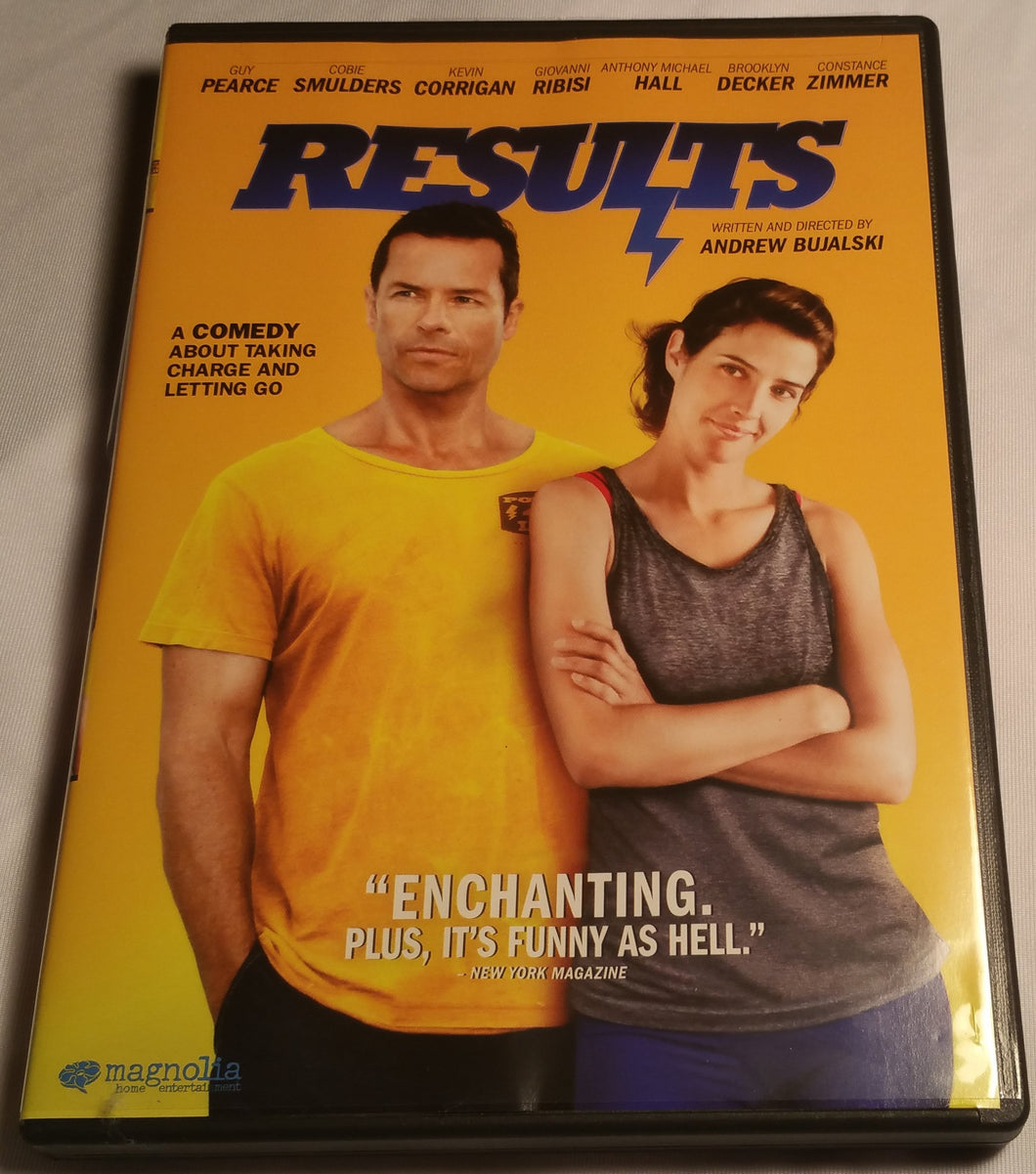Results DVD - Cobie Smulders Comedy
