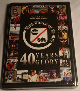 ESPN Wide World Of Sports 40 Years Of Glory DVD(Factory Sealed)