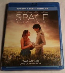 The Space Between Us Blu-Ray and DVD Combo(No Digital Code)