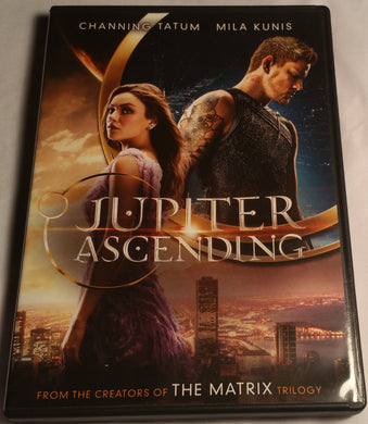 Jupiter Ascending DVD - Mila Kunis and Channing Tatum Sci-Fi