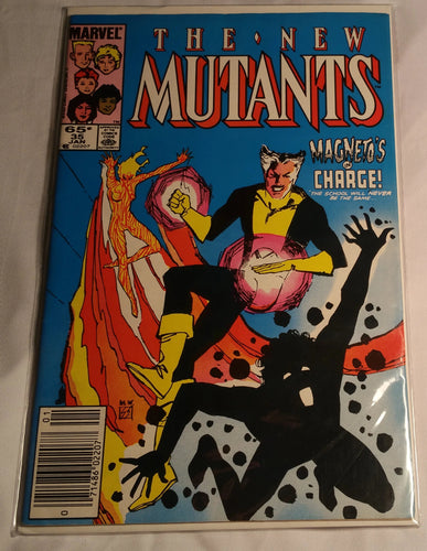 The New Mutants Issue 35(Magneto's In Charge)
