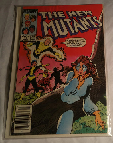 The New Mutants Issue 13