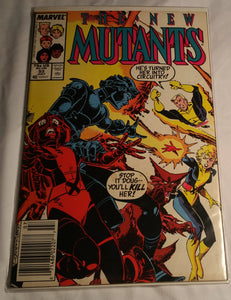 The New Mutants Issue 53