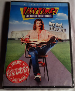 Fast Times At Ridgemont High Special Edition DVD(Factory Sealed)