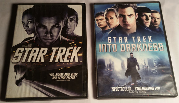 Star Trek Two Movie DVD Bundle