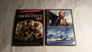 Russell Crowe Two Movie Bundle.