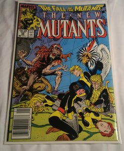 The New Mutants Issue 59