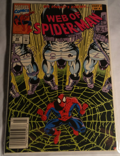 Web of Spiderman Issue 98