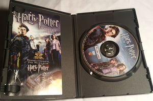 Harry Potter and The Goblet of Fire DVD Includes Original Booklet