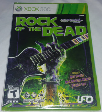 Rock of the Dead Xbox 360 Factory Sealed