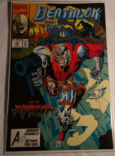 Deathlok Issue 22 Guest Starring The Black Panther