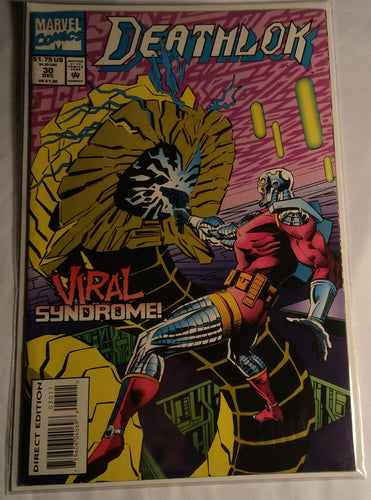 "Deathlok Issue 30 ""Viral Syndrome"""