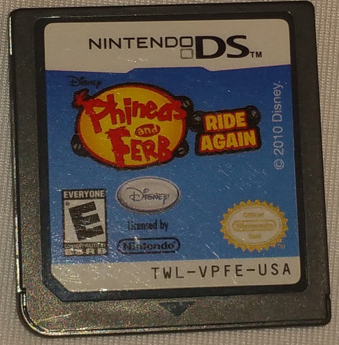 Phineas and Ferb Ride Again Nintendo DS Game