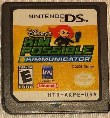 Kim Possible Kimmunicator Nintendo DS