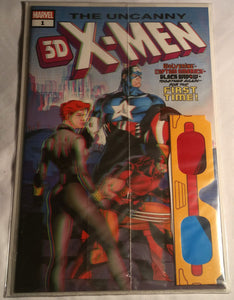 The Uncanny X-Men 3D Issue#1