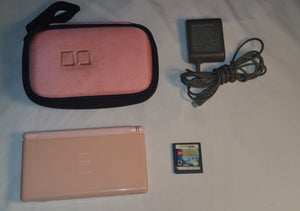 Pink Nintendo DS Lite Lego Batman Bundle. Also Includes a Carrying Case