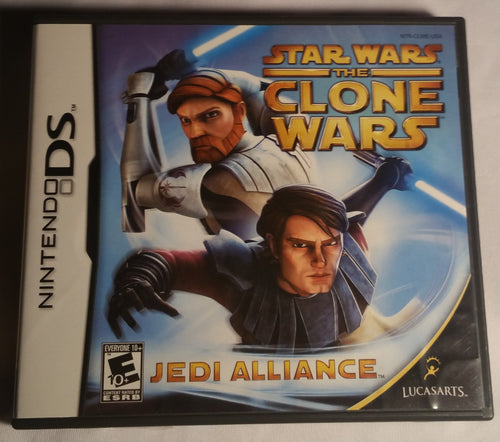 Star Wars The Clone Wars Nintendo DS Game