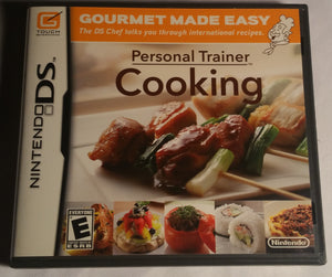 Personal Trainer Cooking Nintendo DS Game