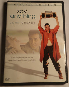 Say Anything Special Edition DVD