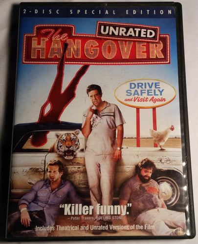 The Hangover Unrated 2 Disc Special Edition DVD