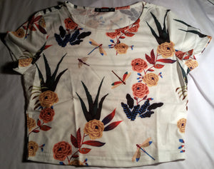 Floral Pattern Top