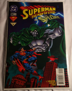 Superman The Man Of Steel #54 - Superman and The Spectre!