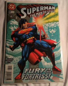Superman The Man Of Steel Issue 61 - Fury In The Fortress