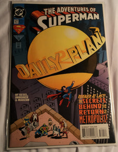 The Adventures Of Superman Issue 522