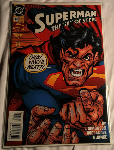 Superman The Man of Steel #46