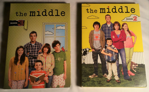 The Middle Season 2 and Season 3 DVD Box Set's