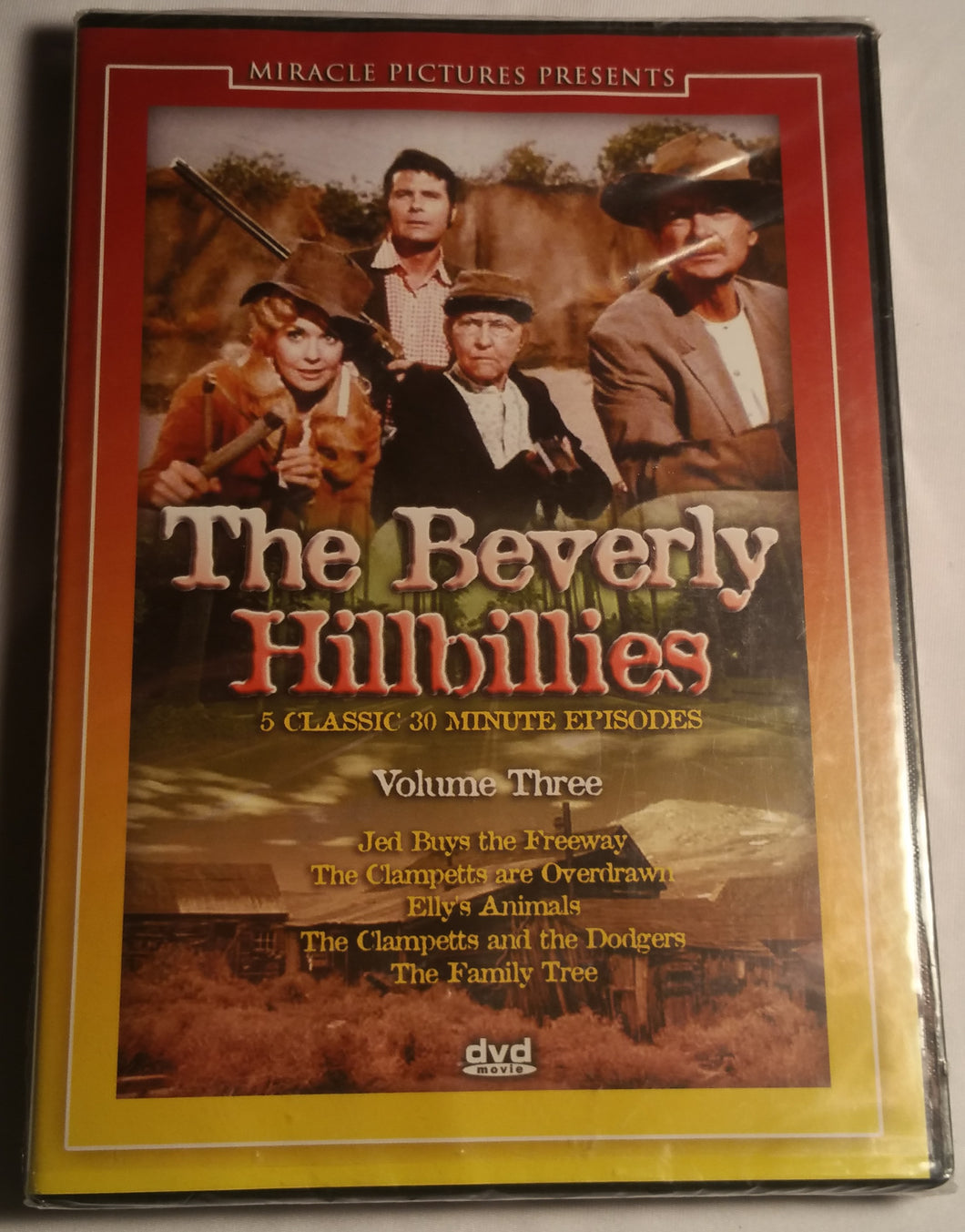 The Beverly Hillbillies Volume 3(Factory Sealed)