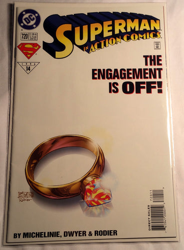 Superman In Action Comics #720 - The Engagement Is Off!