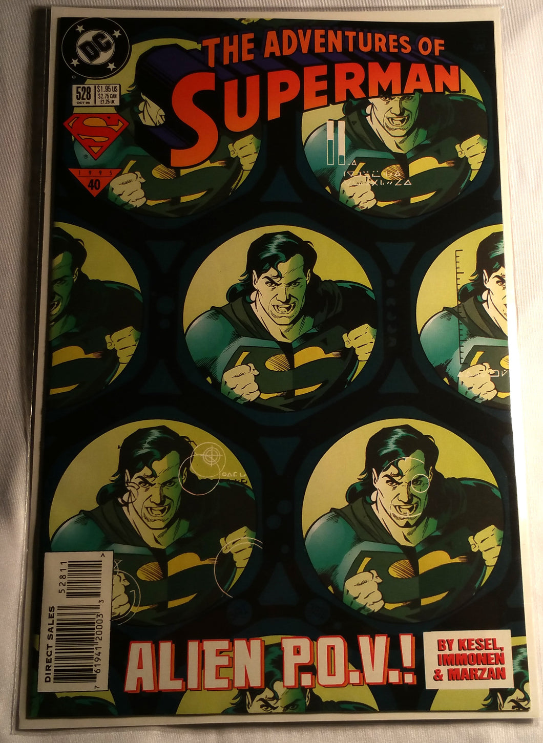 The Adventures of Superman #528 - Alien P.O.V!