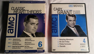 AMC Movies Lot. Classic Heartthrobs and Cary Grant